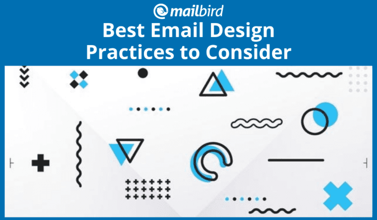 Best email design practices for optimal results