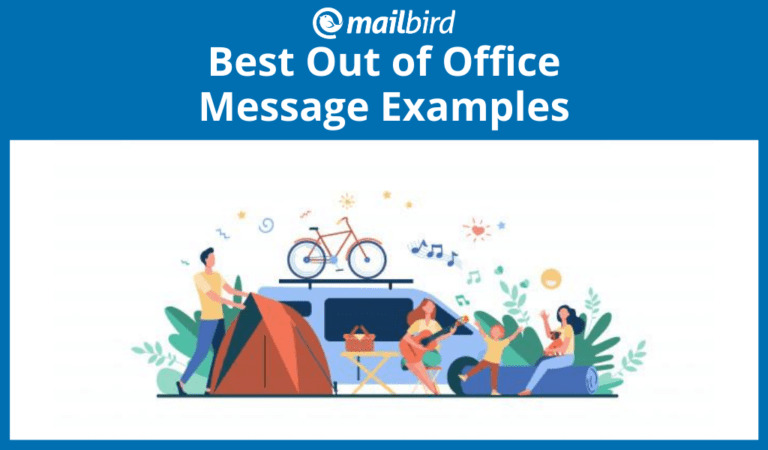 Seven best out of office message examples