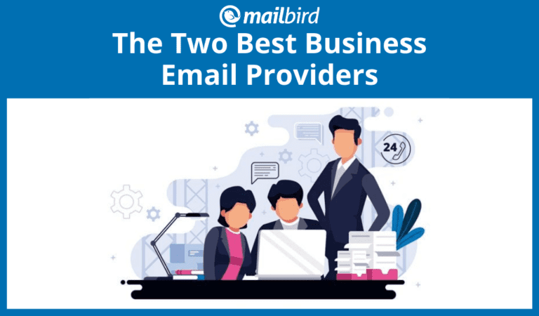 Two best business email providers