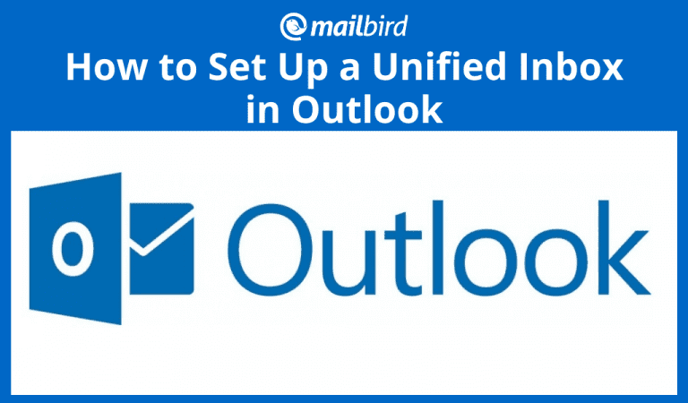 How to set up an Outlook Unified Inbox