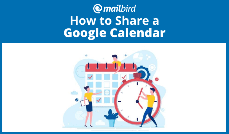 How to share a Google calendar