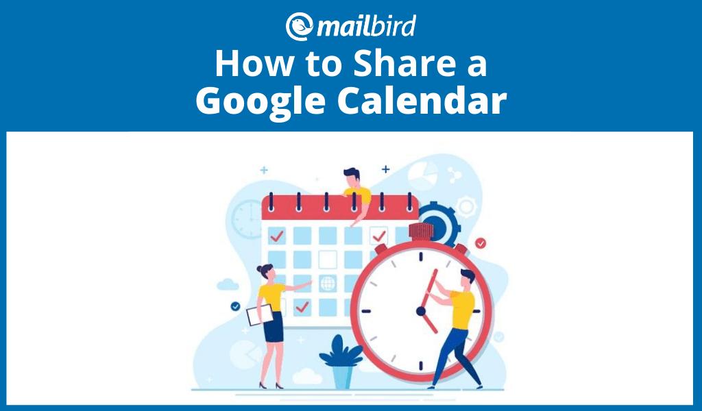 How to share a Google calendar