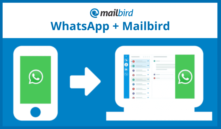 WhatsApp emails inside your Mailbird inbox