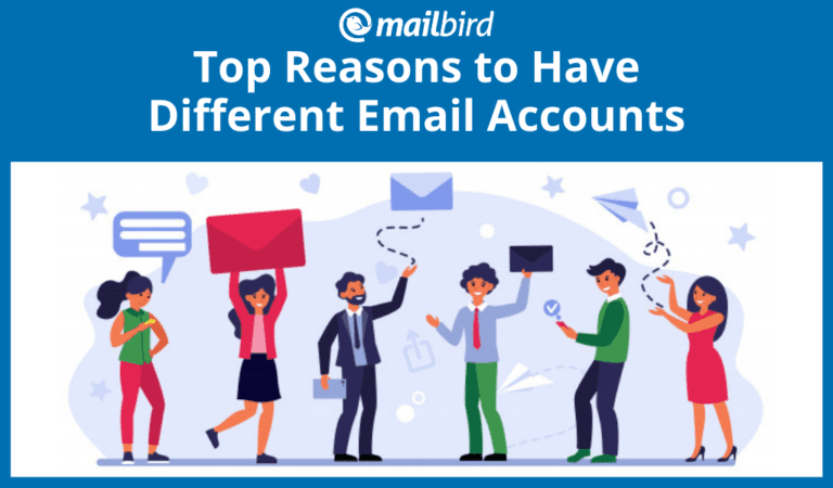 Top reasons to have different email accounts