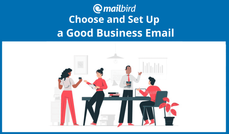Choosing and setting up a good business email address