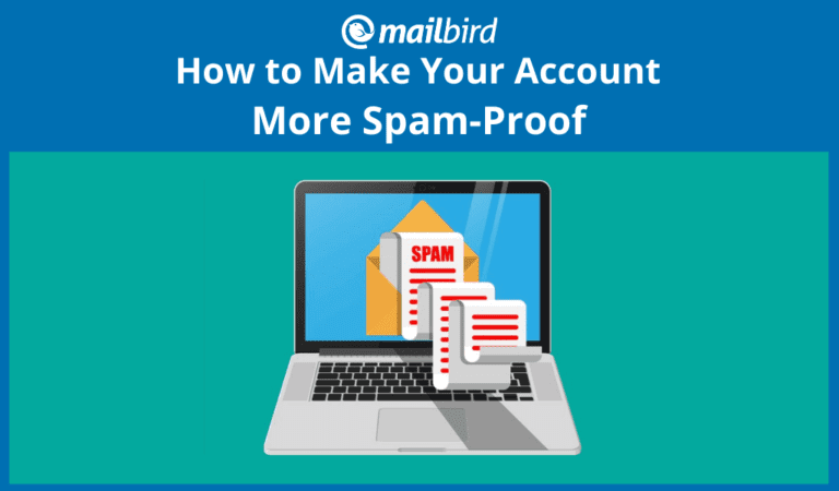 How to reduce the amount of spam email