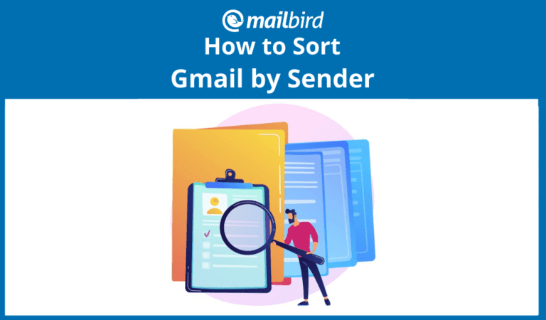 How to sort Gmail by sender
