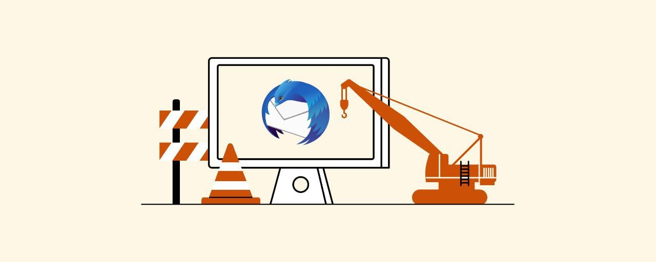 How to solve Thunderbird email problems